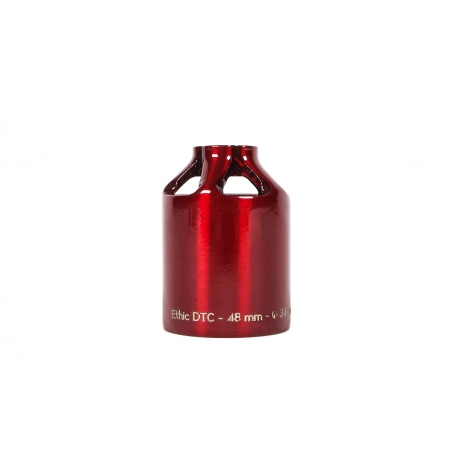 Ethic DTC Peg 12std Steel 48mm Transparent Red