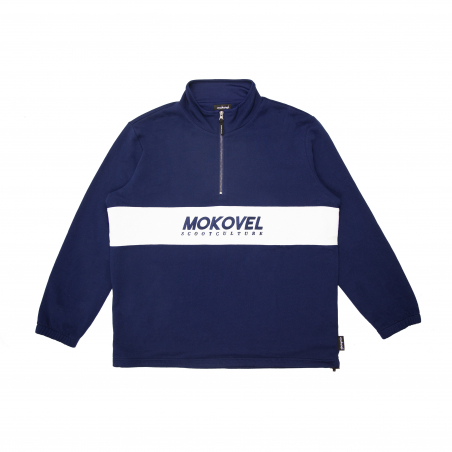 Mokovel 1/4 Zip Blue