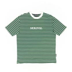 Mokovel T-shirt  Striped Green