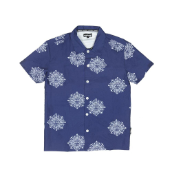 Mokovel Shirt Short Sleeve Blue
