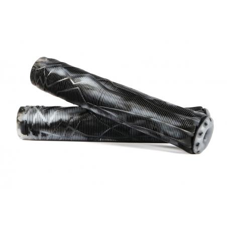 Ethic DTC Grips Rubber Black Transparent Mix