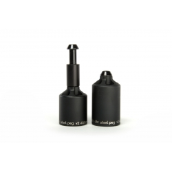 Ethic DTC Pegs Steel Black