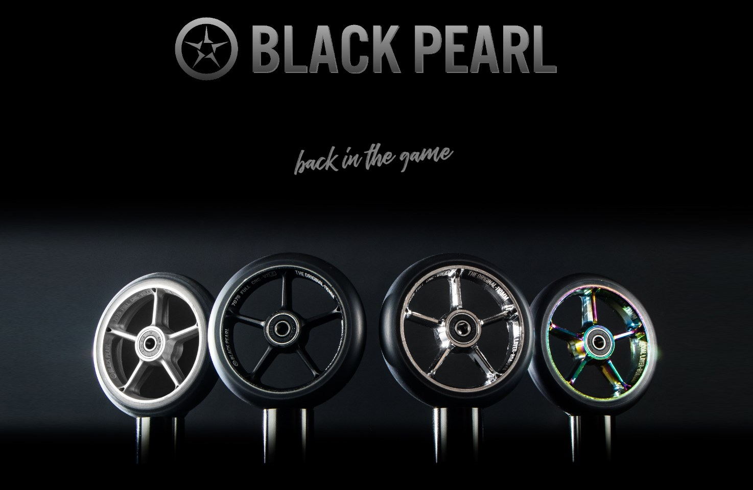 Black Pearl wheels